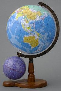 本格的な地球儀